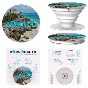 PopSockets Grip - White/Light Gray