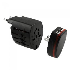 Froid Universal Travel Adapter with 2 USB Ports