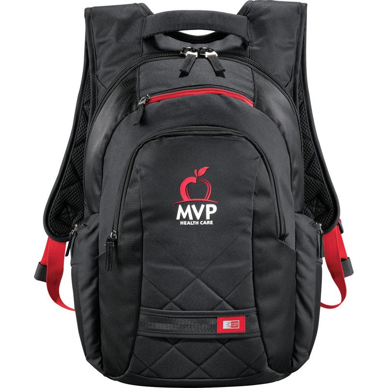 Case Logic® Cross-Hatch Compu-Backpack